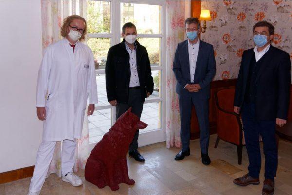 Gut aufgestellt: Passaus Landrat zu Gast im Passauer Wolf