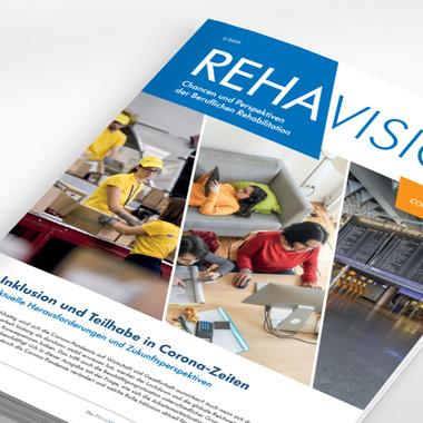 Titelbild des Magazins Rehavision 3/2020