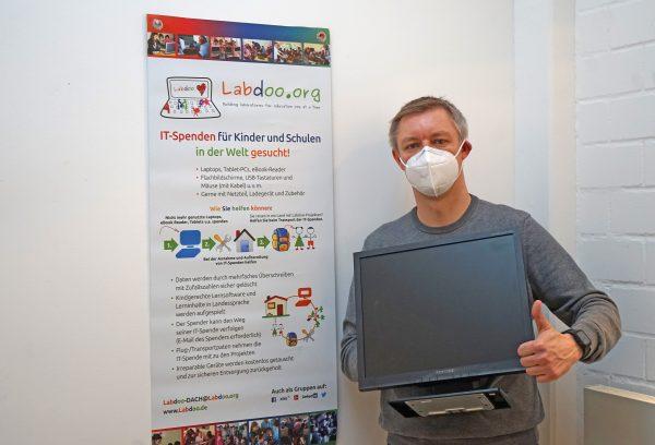 Ev. Stiftung Volmarstein und Spendenprojekt Labdoo profitieren voneinander
