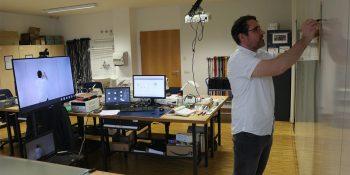 Online-Unterricht bei den Elektronikern im BFW Leipzig. © M. Lindner, BFW Leipzig