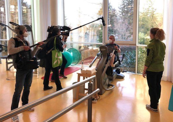 SWR-Fernsehen berichtet aus den RehaZentren Baden-Württemberg