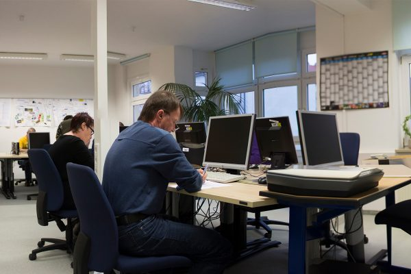 VIM und IdA starten am 23. Februar in Döbeln online. © A. Starke, BFW Leipzig