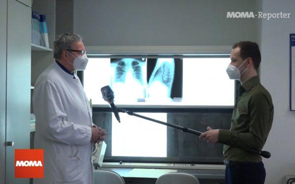 """""""Reha und Corona"""" - ARD und SWR berichten aus der Rehaklinik Heidelberg-Königstuhl"""