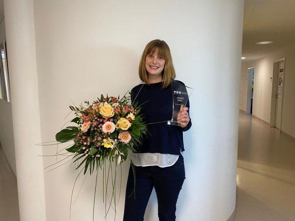 Daniela Schweikert erhält den VDD-Award 2021